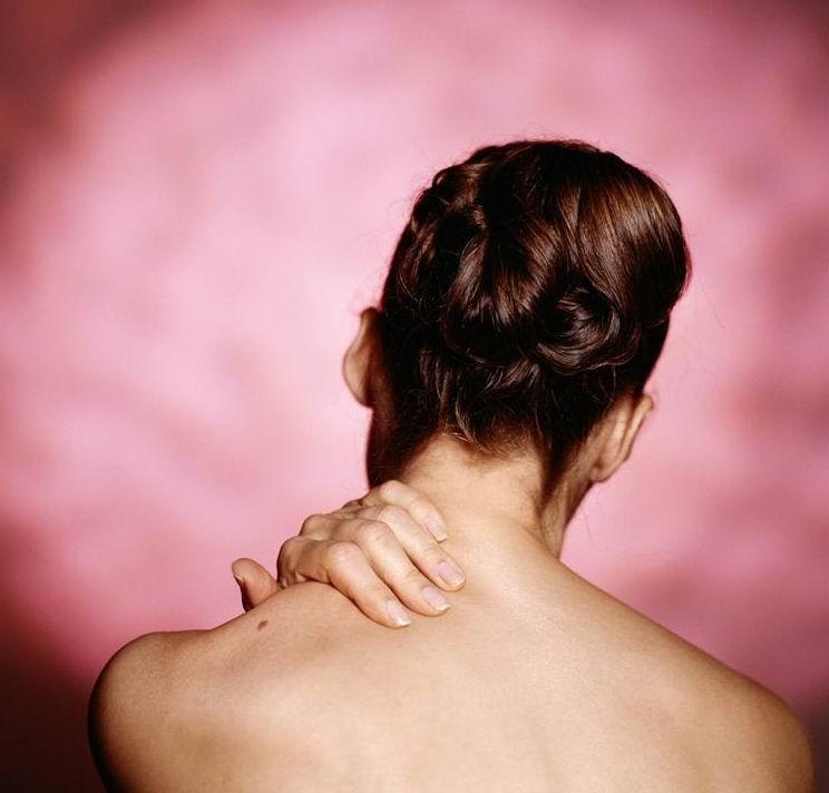 Больная шея