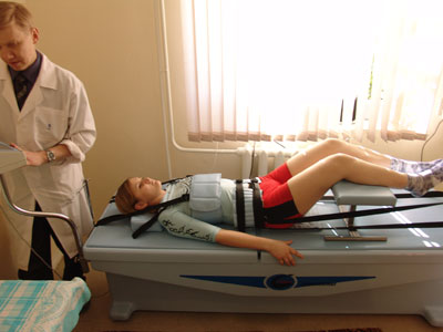 Вытяжение при шейном остеохондрозе
