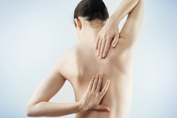 Боль при шейно грудном остеохондрозе