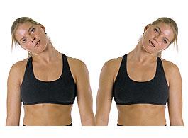 Наклоны головы при остеохондрозе шейного отдела