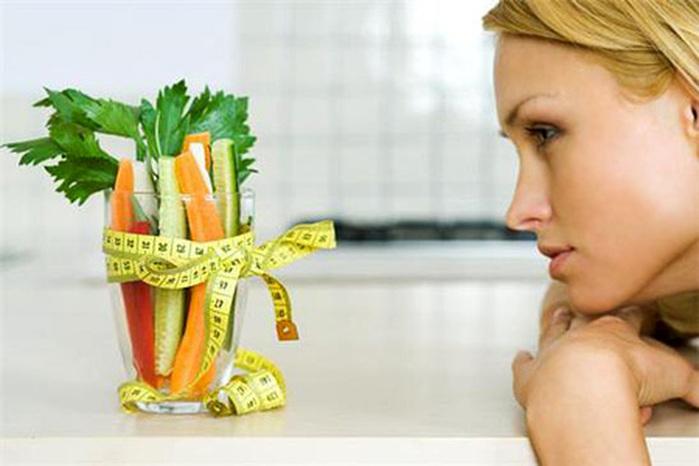 Решение сесть на диету