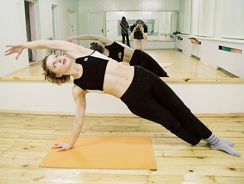 Упражнения в спортзале при сколиозе