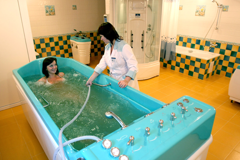 Лечебные ванны для лечения седалищного нерва