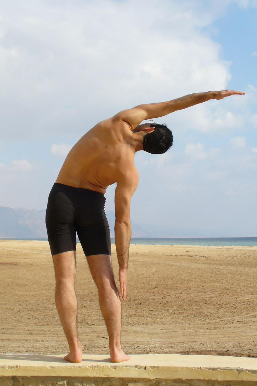 Упражнение стоя при ишиасе