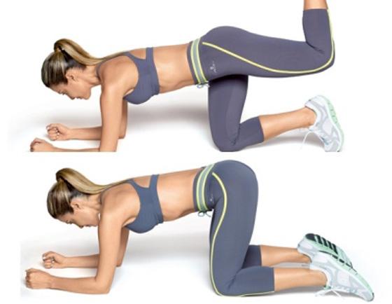 Упражнения на укрепление ягодичных мышц