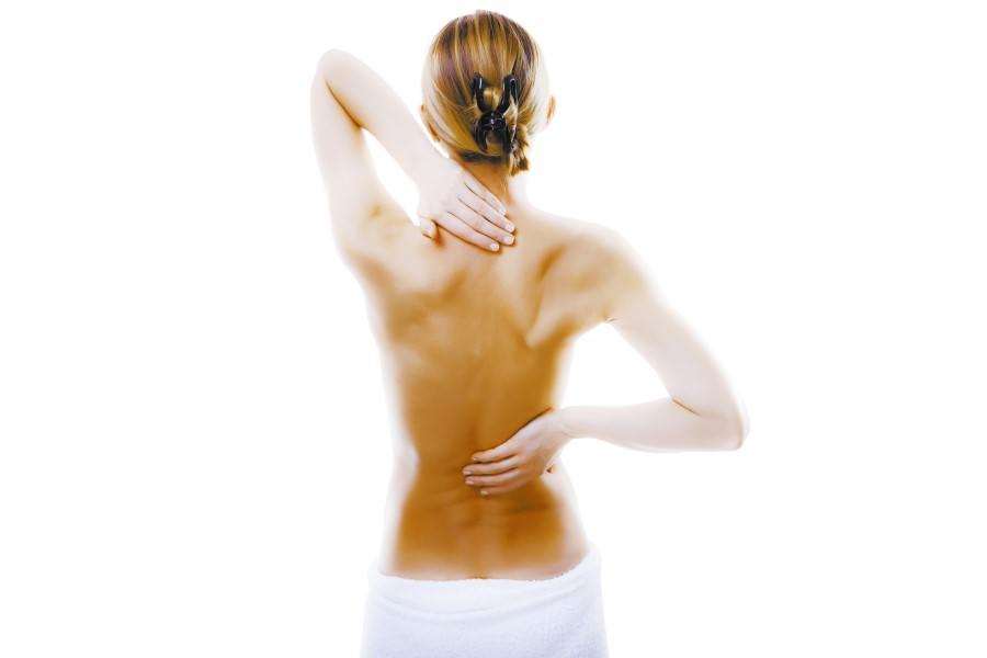 Поврежденная остеохондрозом спина