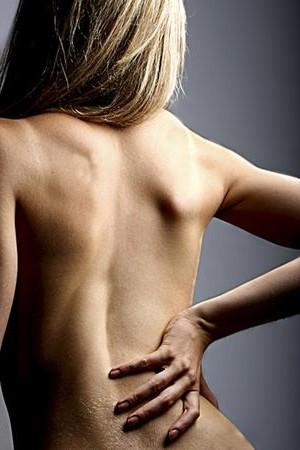 Поясничный остеохондроз - боли в спине