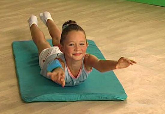 Домашняя гимнастика при сколиозе