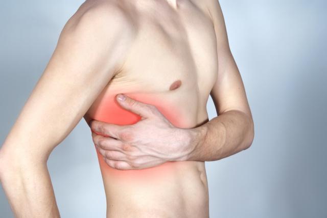 Боли при грудном радикулите