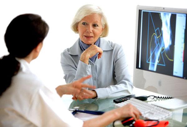 Постановка диагноза врачом - диффузный остеопороз