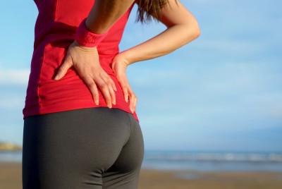 Боль - симптом защемления седалищного нерва